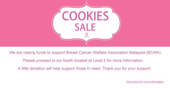 Cookies Sales
