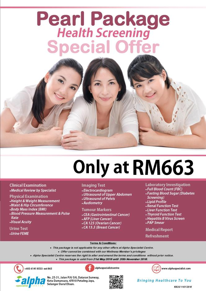 Pearl Package Offer